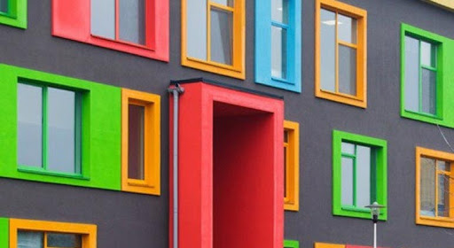 رنگ درب و پنجره